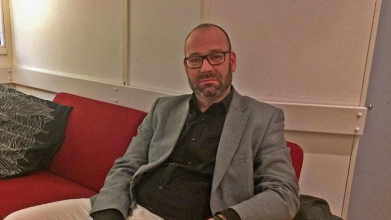 Stefan Blomberg psykolog och forskare vid Arbets- och miljömedicin på Universitetssjukhuset i Linköping