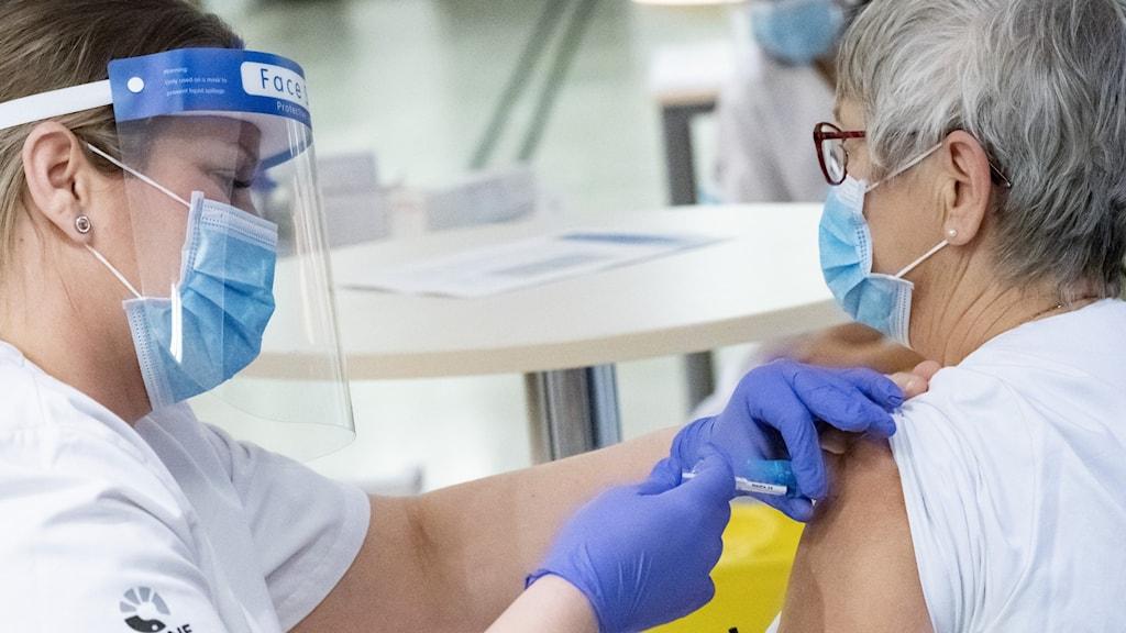 Till slutet av juni ska hela den vuxna befolkningen vara vaccinerad mot covid-19.