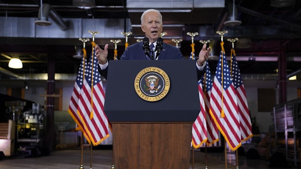 Joe Biden, USA:s president