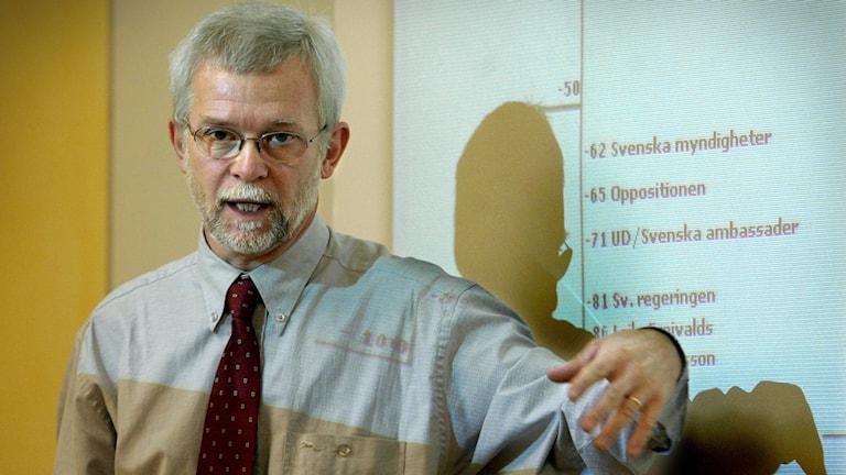 Tomas Odén, medieforskare på Göteborgs Universitet.