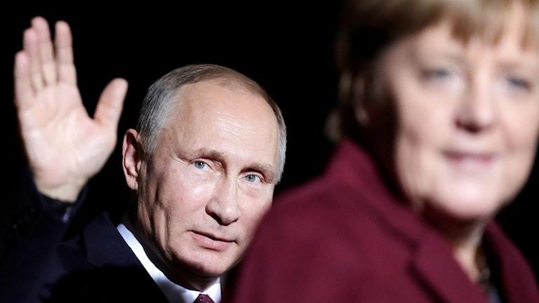 Merkel och Putin