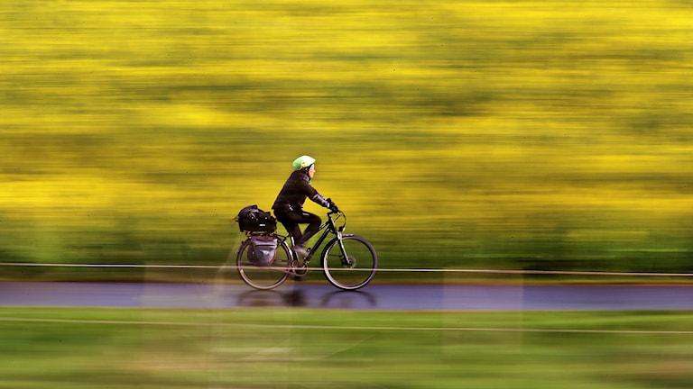 Cyklist.