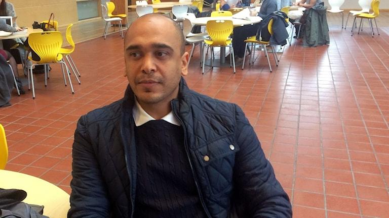 Bastian Khalil från Syrien kom in på sin drömutbning med hjälp av valideringen.