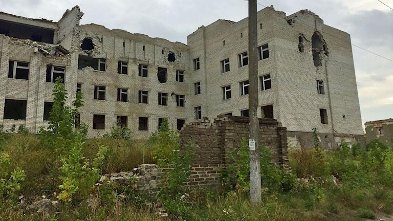 Sjukhuset där Zinaida jobbade