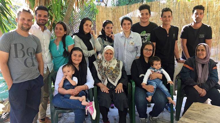 Familjen Qias har flytt undan talibanerna i Afghanistan.