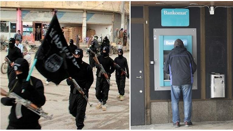 Bankernas anmälningar om misstänkt terrorfinansiering har ökat under året