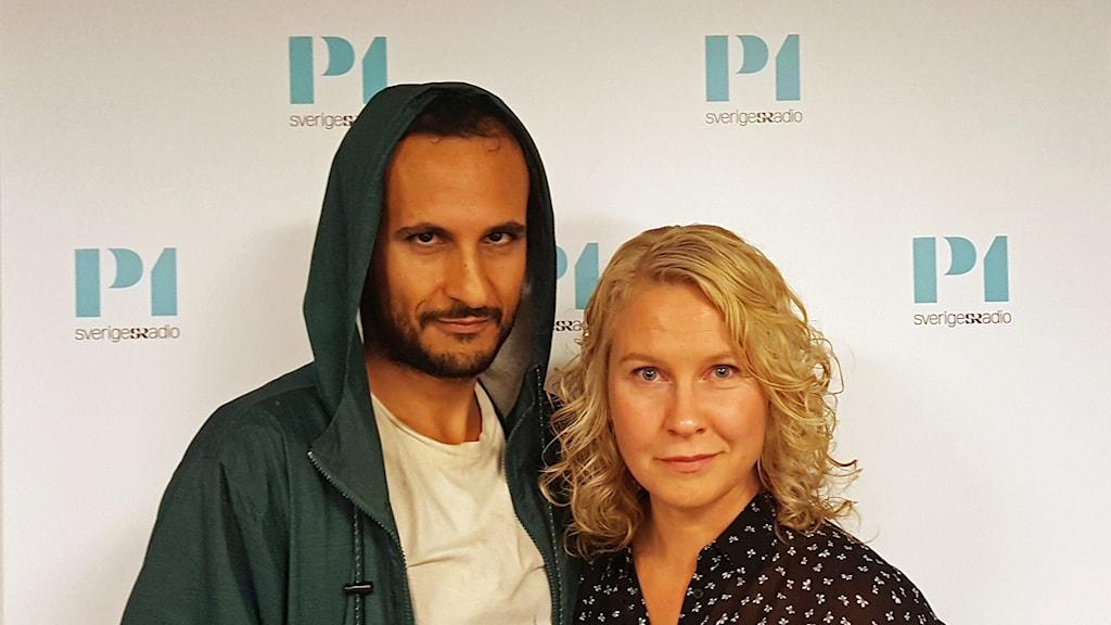 Ali Abbasi och Eva Melander.