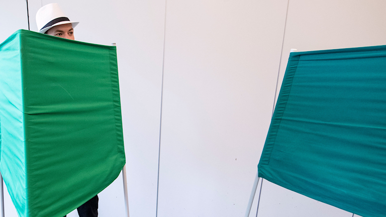 EU-val röstlokal