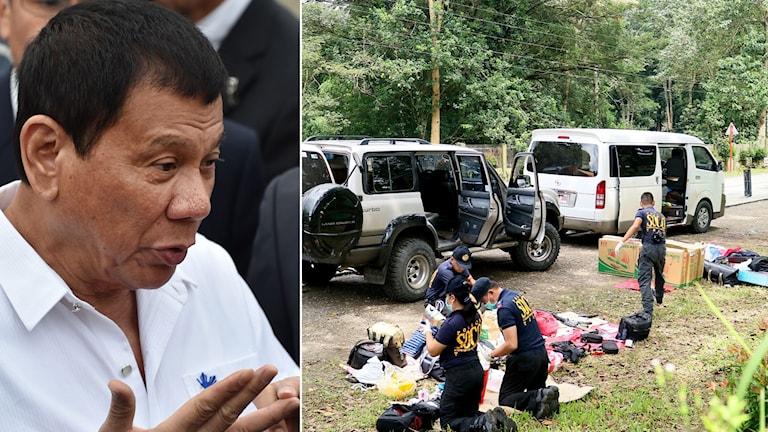 President Duterte fortsätter sitt krig mot droger i landet - och varnar för över 20 000 döda.