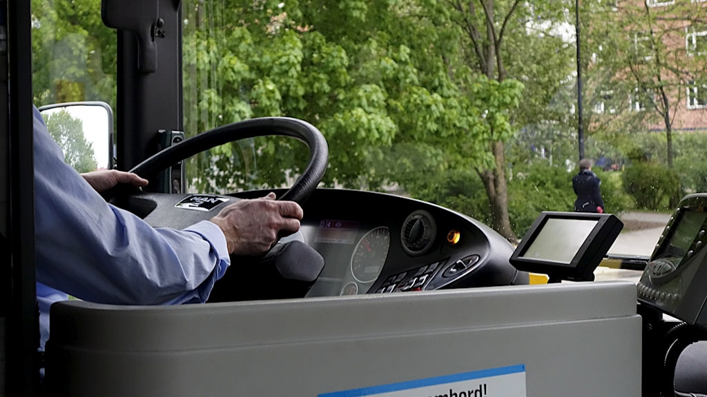 En busschaufför