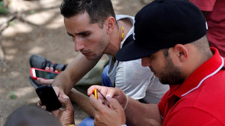 Wifi på Kuba.