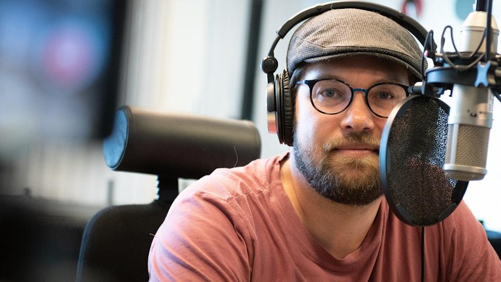 Jimmie Åkesson (SD) i studion.