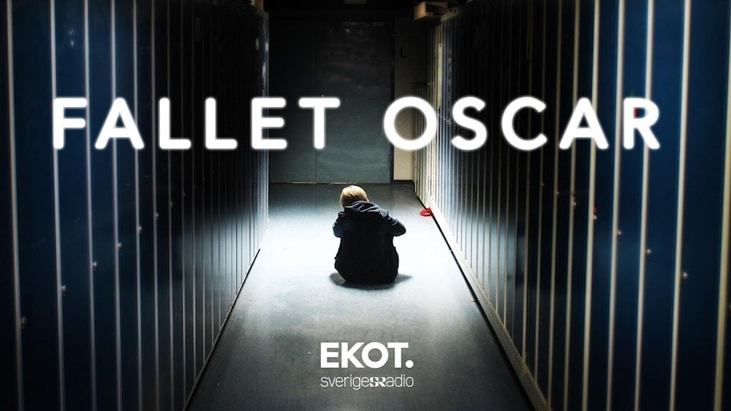 Oscar hölls fast av personalen på skolan, gång på gång.