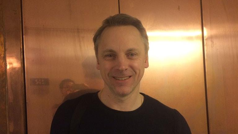 Jens Ergon, författare och vetenskapsjournalist på SVT.