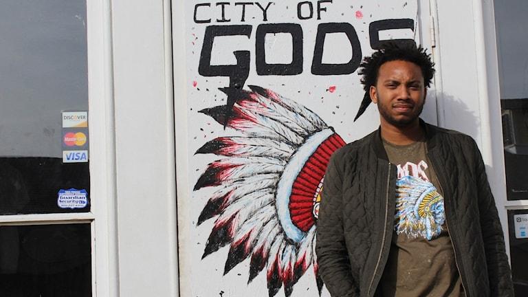 Kwame Rose, aktivist som vill visa en annan sida av Baltimore.