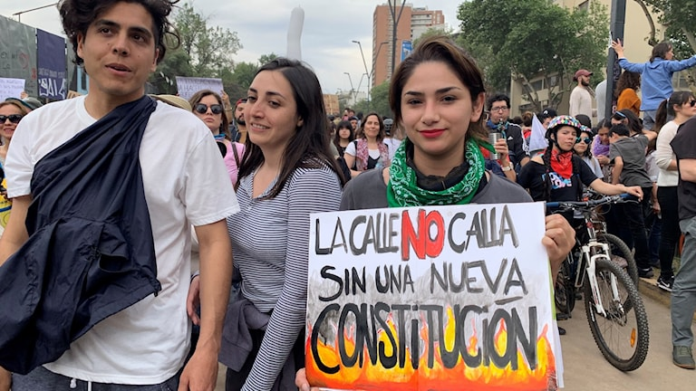 En ny grundlag är ett av de vanligaste kraven som framförts under protesterna i Chile.
