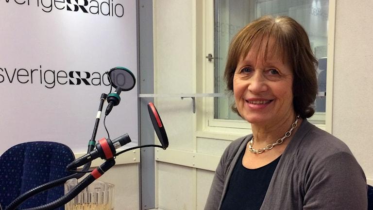 Ingrid Nilsson, svenska Mormonkyrkans informationschef.