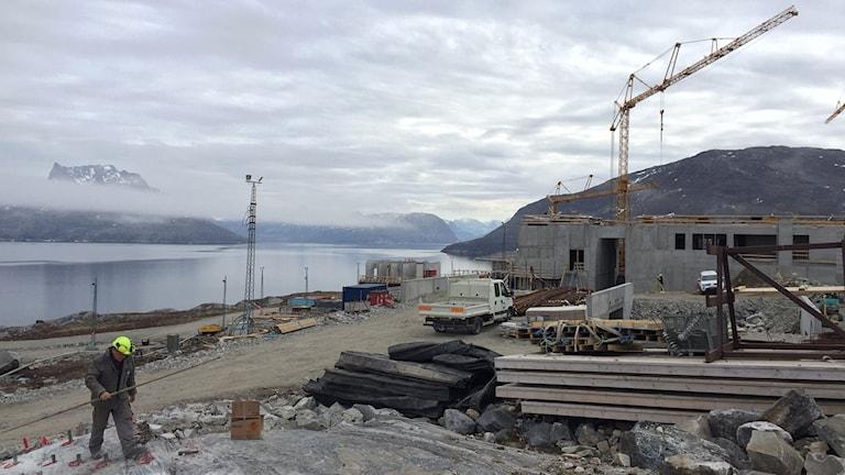 Fängelset har börjat byggas i Nuuk.