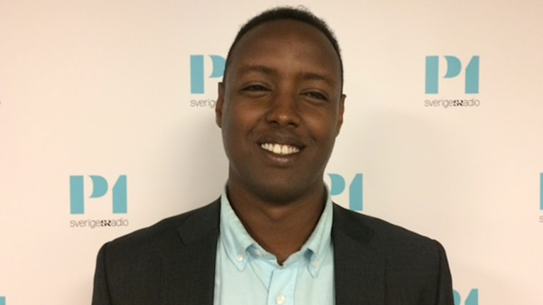 Ahmed Abdirahman, ordförande i The Global Village arrangerar Politikerveckan i Järva.