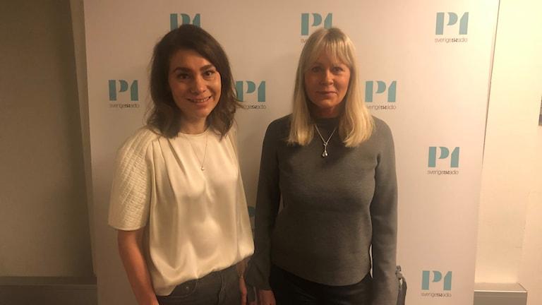 Lisa Aschan och Nina Gunke.
