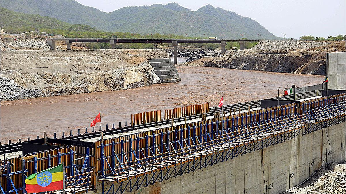 Etiopien leder om floden inför dammbygget. Foto: William Lloyd George/Scanpix.