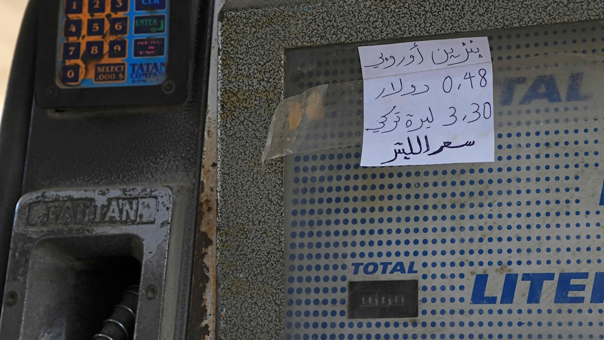 Syriens valuta rasar