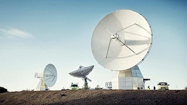 Två nya teleskop tas i bruk vid Onsala rymdobservatorium.