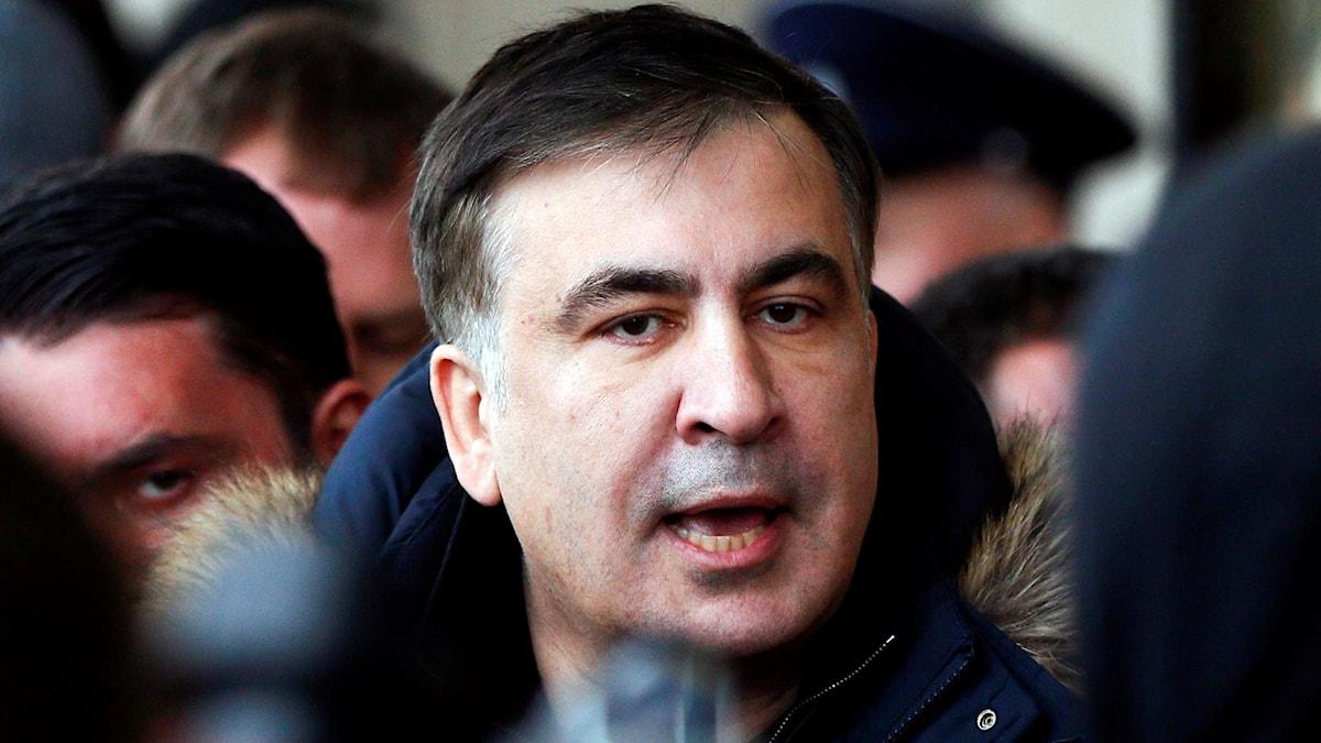 Michail Saakashvili, tidigare president i Georgien.
