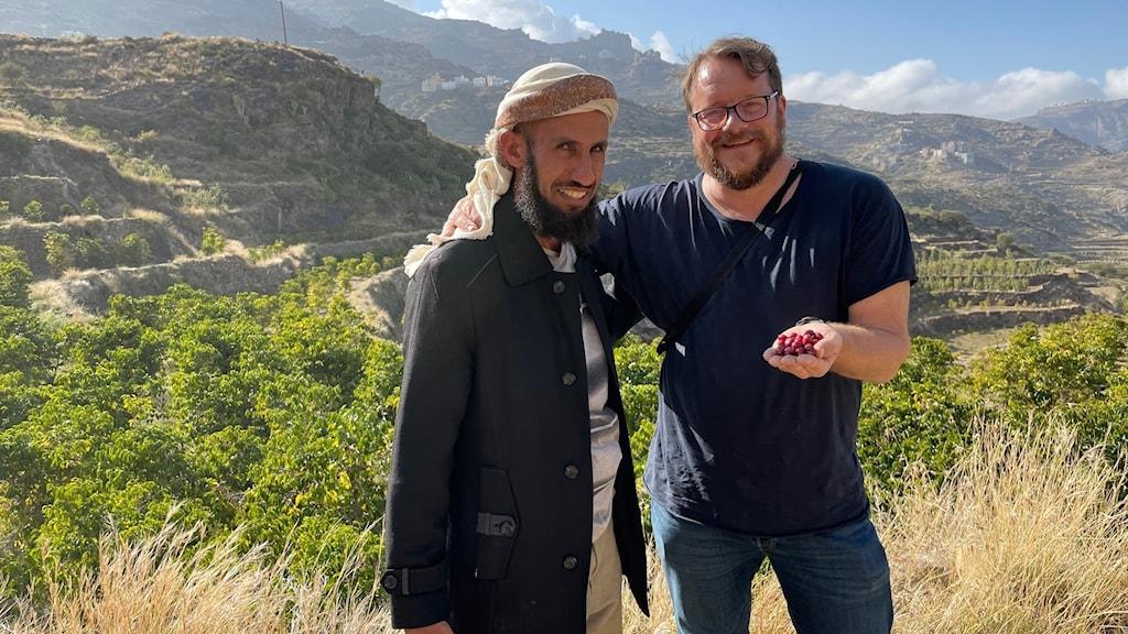 Hassan och JoMa i Harazbergen