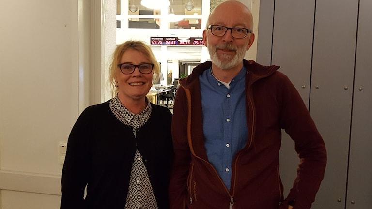 Anna Allerstrand och Mikael Nyman
