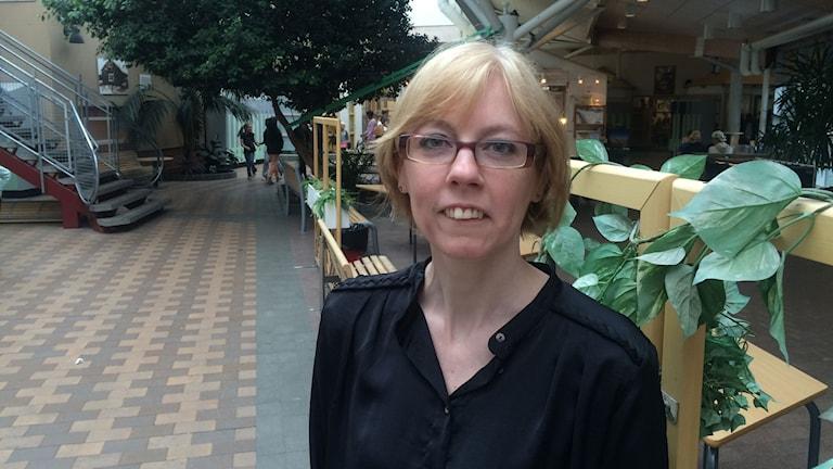 Sara Nordquist, högstadielärare.