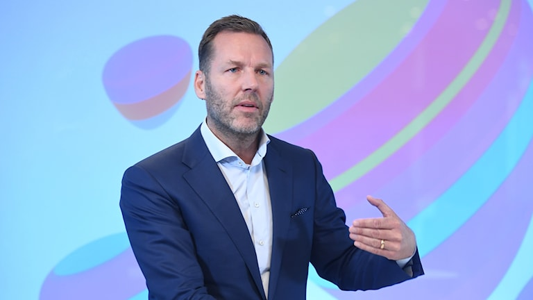 Johan Dennelind, VD Telia.