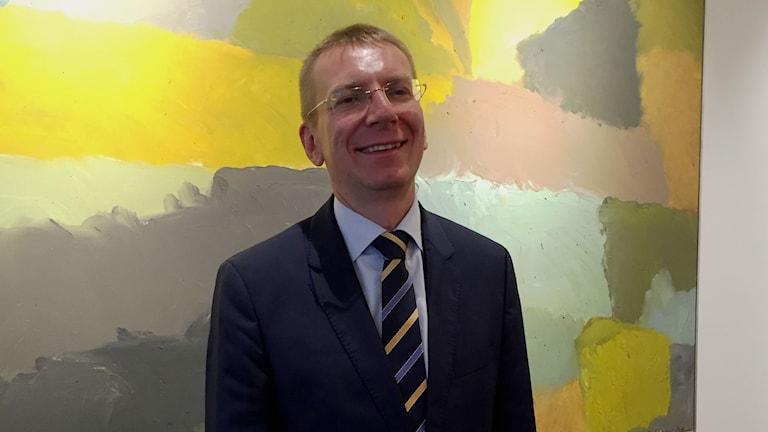 Edgars Rinkēvičs, utrikesminister i Lettland, hoppas på stärkta rättigheter för hbtq-personer.