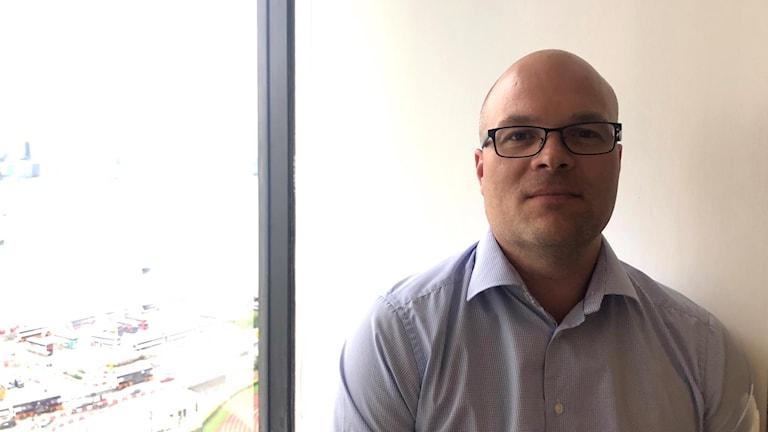 Handelsbankens chef i Hongkong David Haqvinsson.