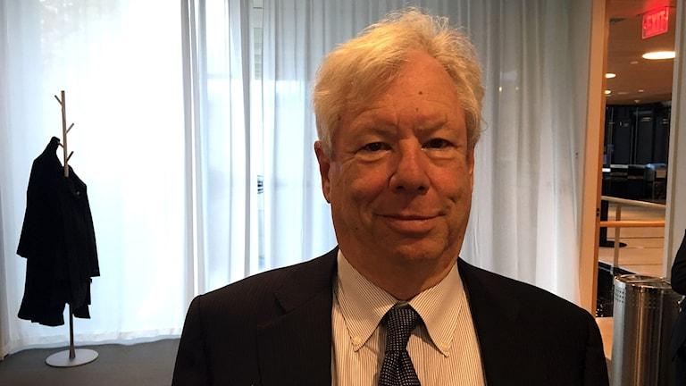 Amerikanen Richard Thaler får årets nobelpris i ekonomi.