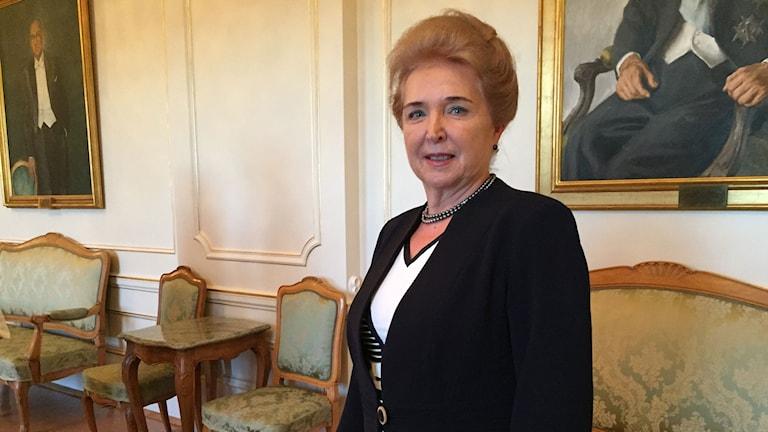 Marta Matrai som är förste vice talman i det ungerska parlamentet anser att det är fel att dra paralleller mellan ungrarnas flykt för 60 år sedan och de som flyr till Europa i dag.