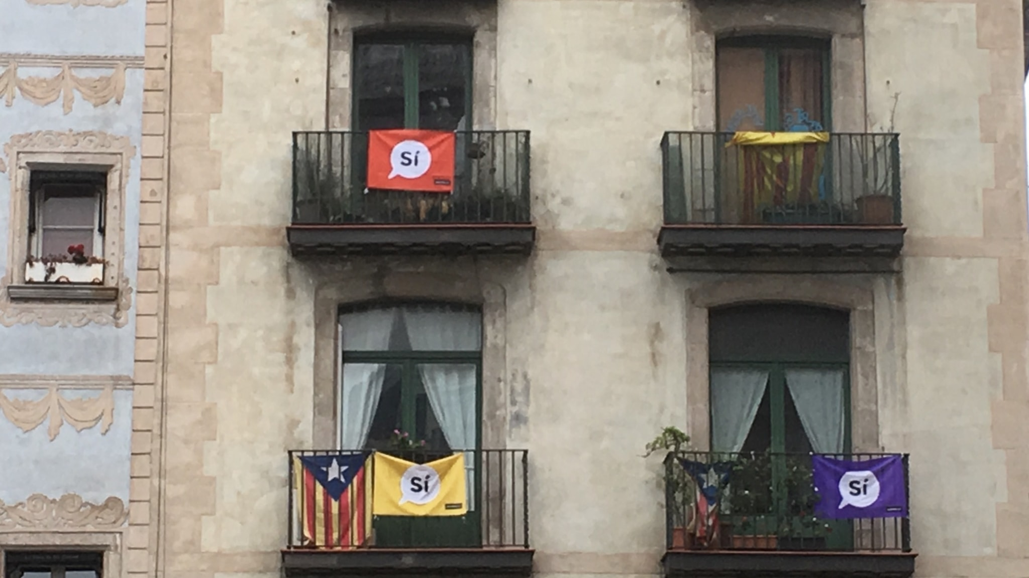 Fa katalaner rostar om oberoende