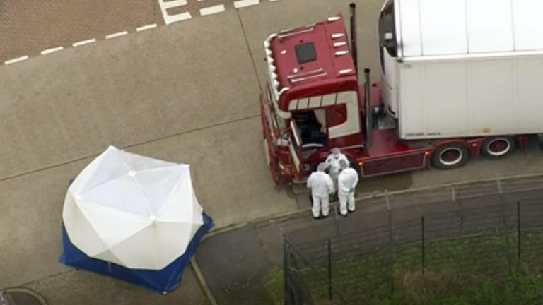 Britain Truck Bodies Found