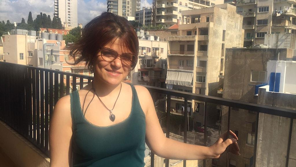 Afraa Batous, en av Bidayyats regissörer.