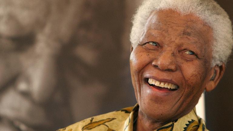 Nelson Mandela. Foto: Denis Farrell/TT