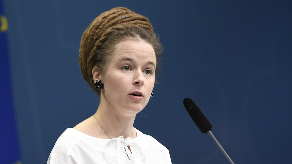 Kulturminister Amanda Lind (MP).