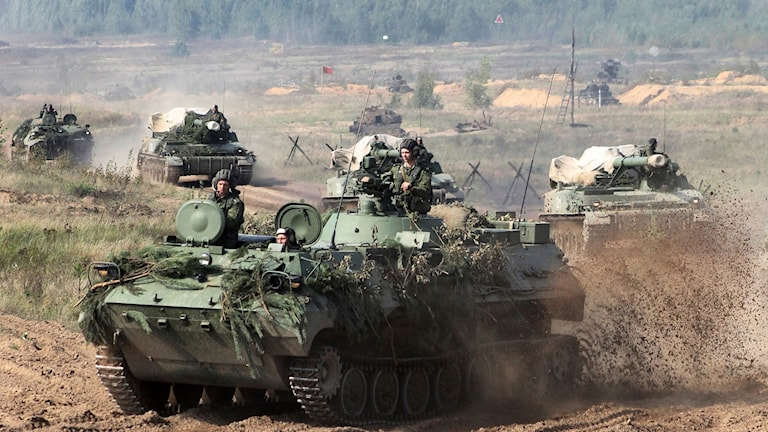 Militärövning i Ryssland