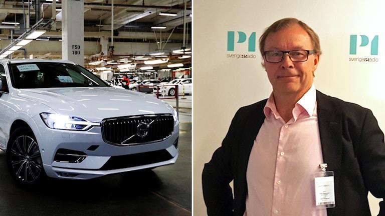 Volvo Cars och Peter Malmqvist.