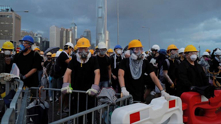 Demokratiaktivister i Hongkong.