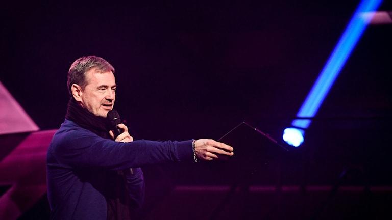 Melodifestivalens general Christer Björkman.