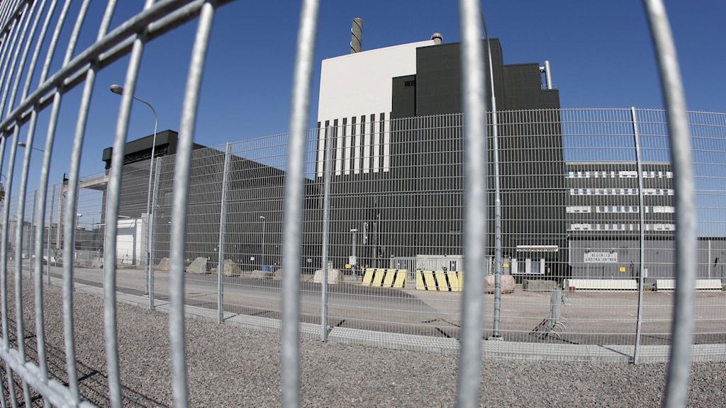 Kärnkraftverket i Oskarshamn. Foto: Mikael Fritzon/TT.