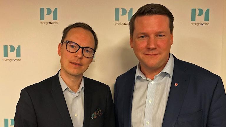 Tobias Baudin och Mats Persson.