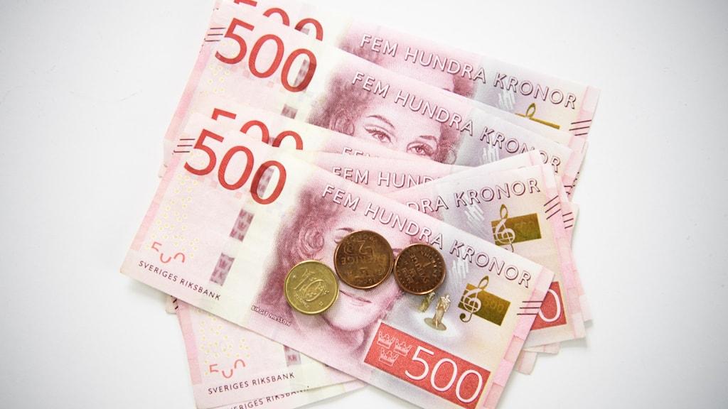 500-kronors sedlar.