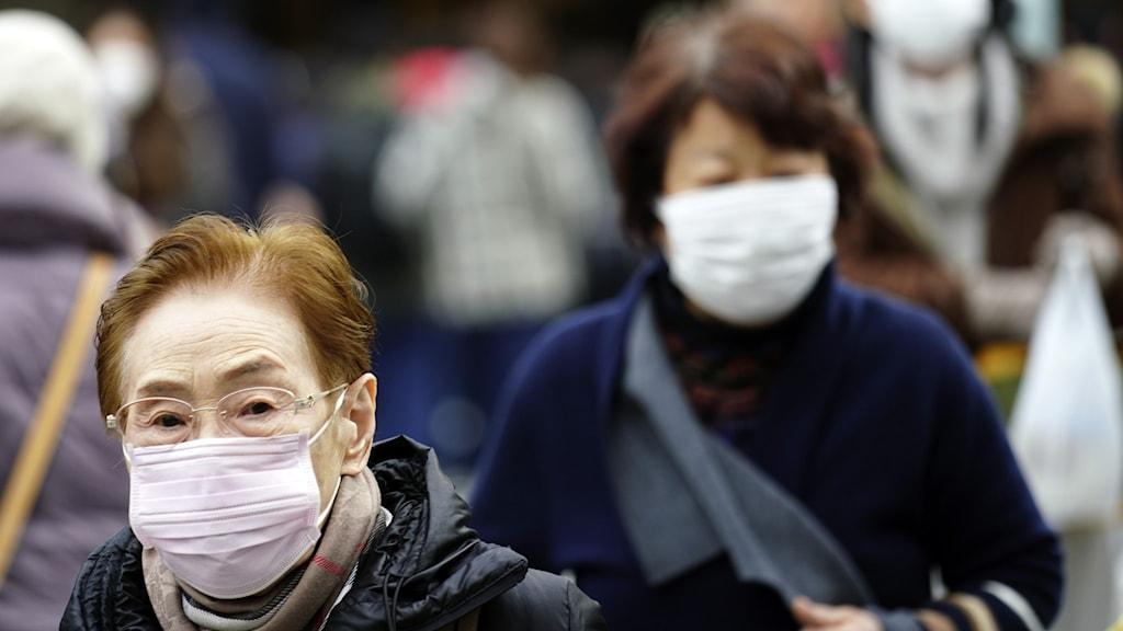 Det mystiska viruset, ett lungvirus, som upptäckts i Kina har nu spridit sig till Japan.