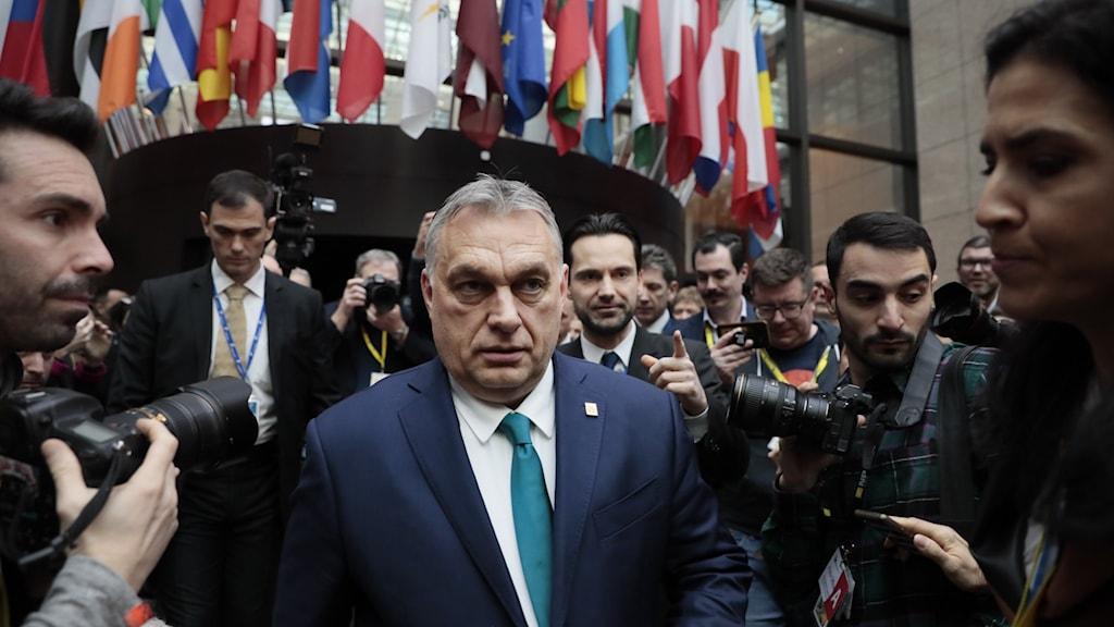 Ungerns premiärminister Victor Orbán